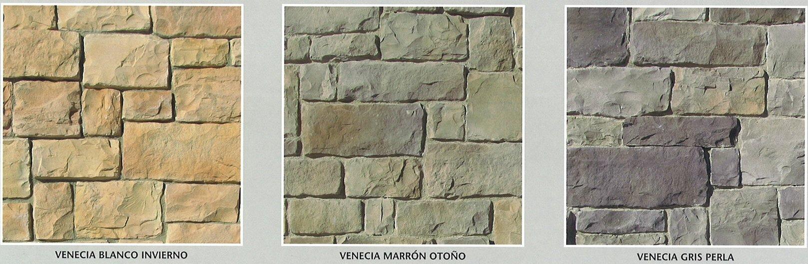 Piedra artificial decorativa modelo venecia cemat gijon - Piedra artificial madrid ...