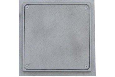 tapa fundicion aluminio estanca lisa