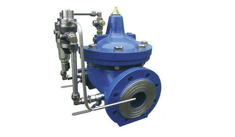 valvula hidraulica automatica de control