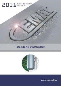 caratula canalon zinctitanio 012011