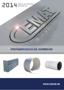 caratula prefabricados de hormigon