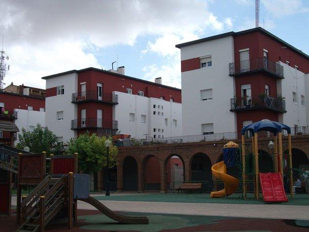 fachada bluclad viviendas
