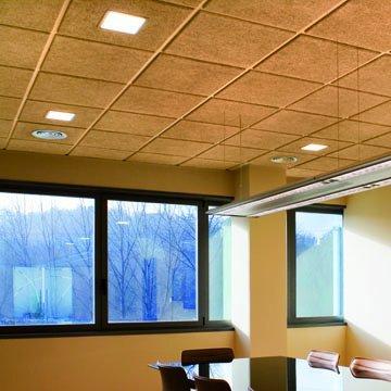 Panel de viruta prensada falsos techos y construcci n for Tipos de techos desmontables
