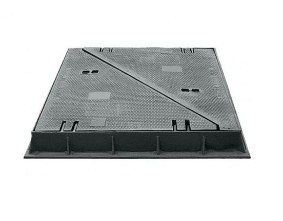 tapa fundicion triangular T1480