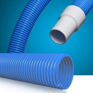 Manguera piscinas TRANSFLOT Tubería autoflotante opaca muy flexible fabricada en EVA (etil-vinilo-acetato)