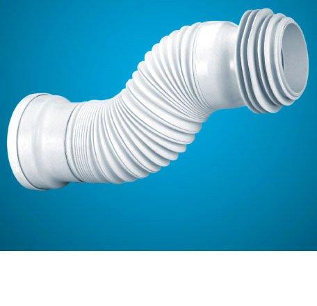 Flexible desagüe inodoro extensible