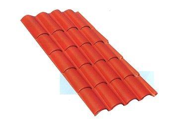placa imitación teja lastra coppo terracota