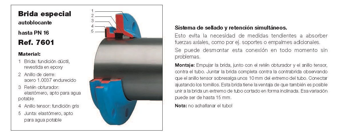 bridas de union para tubos de acero img