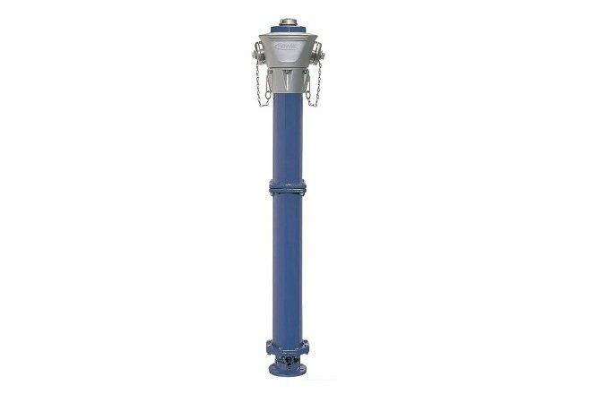 hidrante de fundicion linea rotura provocada