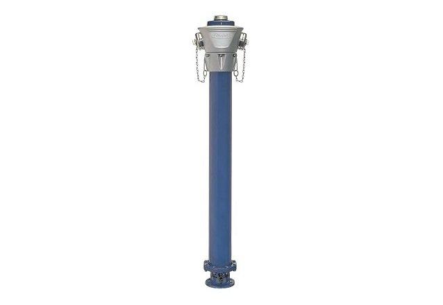 hidrante de fundicion rigido