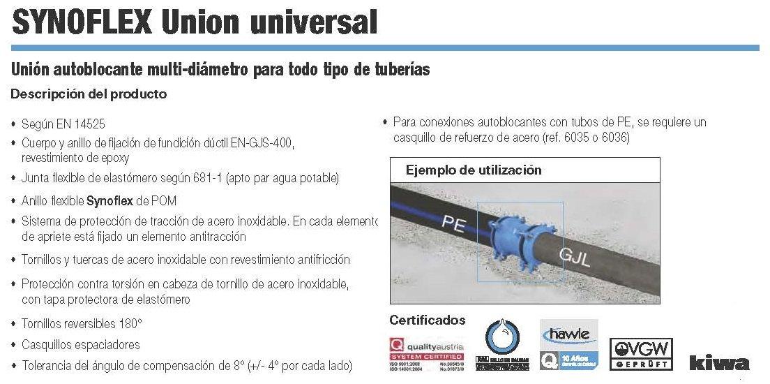 synoflex union universal hawle croquis