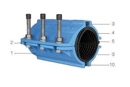 tol collarin de reparacion tubos de fundicion img9