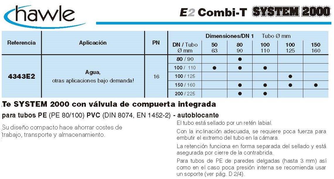 valvula combi t system 2000 croquis