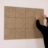 instalacion 6 panel acustico decorativo