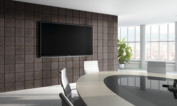 panel acustico decorativo antracita promocion