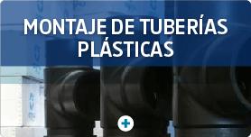 montaje de tuberias plasticas