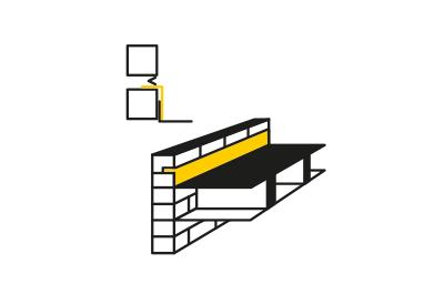 conexiones en cubierta plana y muros